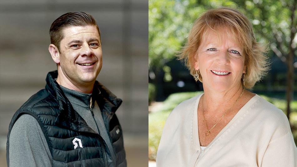 SimpleNexus Founder Matt Hansen and CEO Cathleen Schreiner Gates.