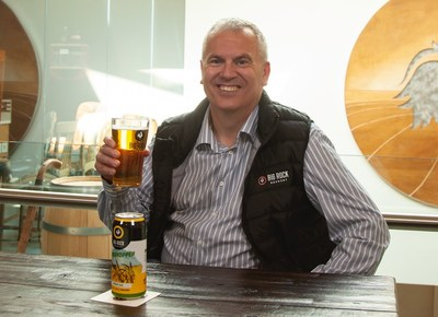 Graham Kendall, Director of Brewing Operations & Brewmaster at Big Rock Brewery (CNW Group/Big Rock Brewery Inc.)