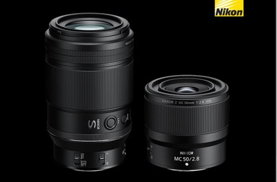 Nikon 50mm F2.8 and 105mm F2.8 1:1 Macro Lenses for Z-Series Cameras