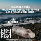 Corona Canada renforce son engagement à régler le problème de pollution marine par les plastiques grâce aux meilleures intiatives de l'industrie, en partenariat avec Ocean Wise