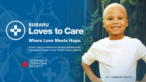 Subaru continues its partnership with The Leukemia and Lymphoma Society for Subaru Loves to Care month in June. #SubaruLovesToCare