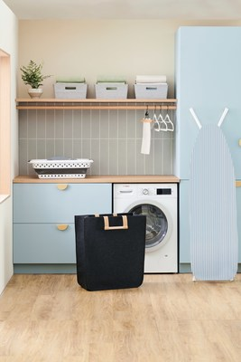 Squared Away™ is a new line of storage, organization, and cleaning solutions for the home. Useful for every room, Squared Away offers a smart and stylish set of products to keep a home looking great and functioning well.