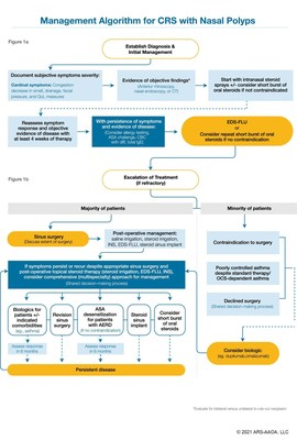 Management Algorithm for CRS with Nasal Polyps