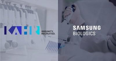 Samsung Biologics KAHR Medical Announce CDMO Agreement