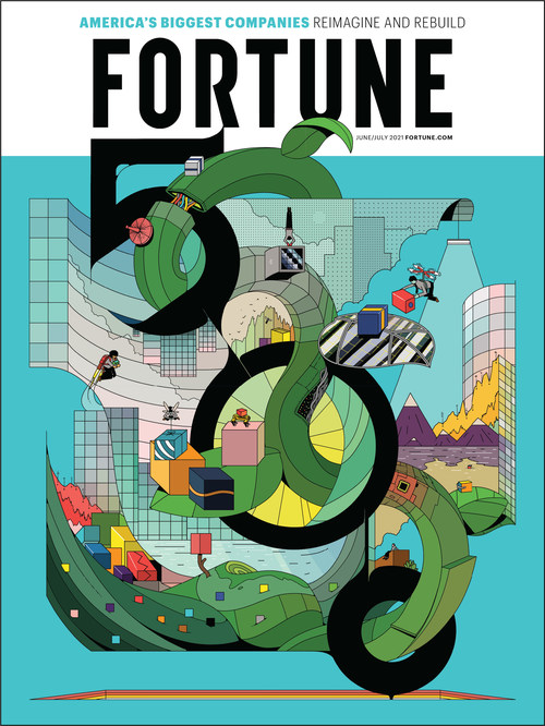 The cover of the June/July 2021 issue of FORTUNE.