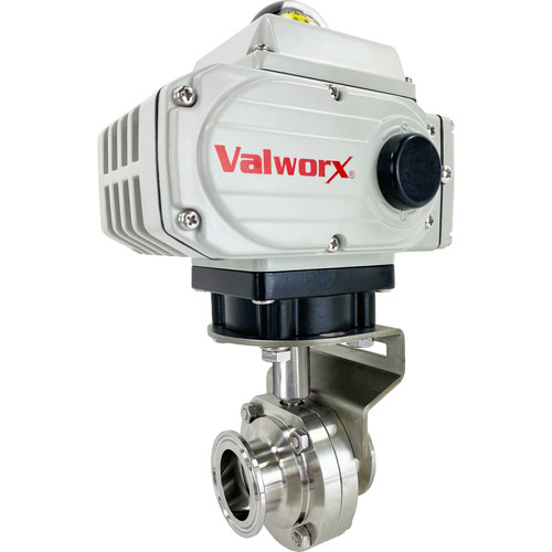 """2"""" Electric Actuated Sanitary Butterfly Valve"""