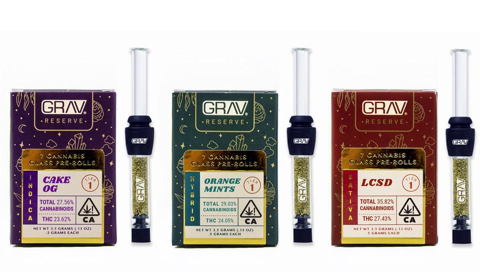 GRAV Reserve Glass Joints