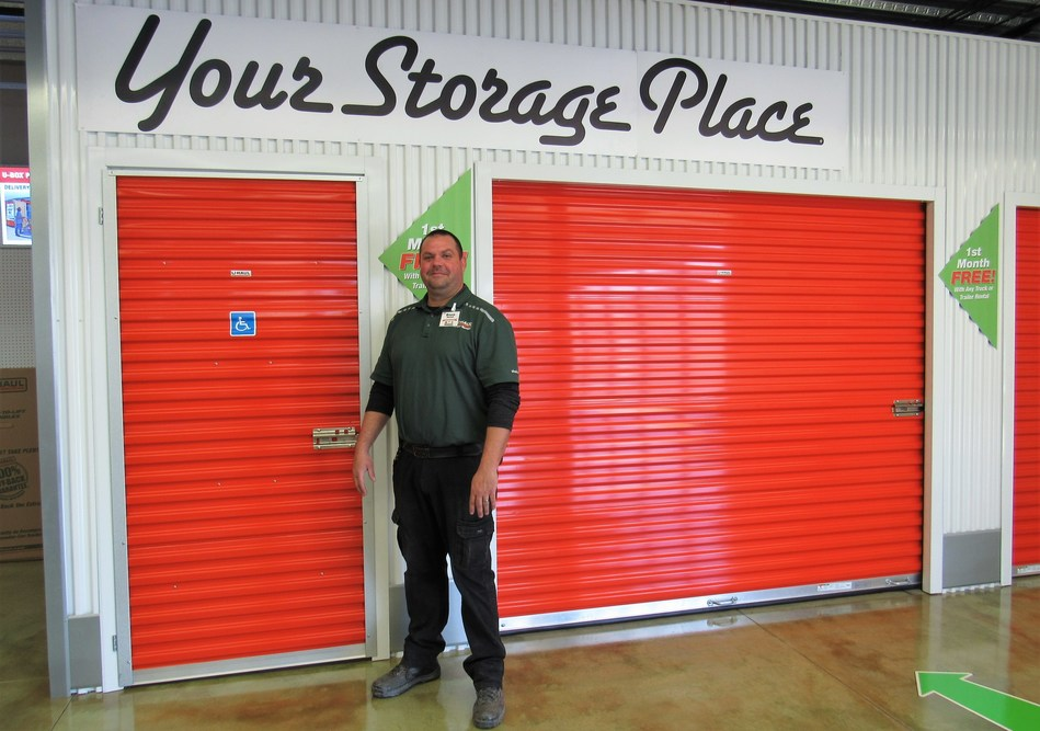 U-Haul at Peach Street Marketplace in Erie is hosting a grand opening from 10 a.m. to 2 p.m. Saturday, June 5 to unveil its retail and indoor self-storage facility at 2255 Downs Drive. HAPPI 92.7 Radio is holding its Spring into Summer HAPPI Home Update winner reveal at the event. Pictured is U-Haul GM Bruce Mackall at the new store.