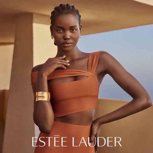 Adut Akech for Estée Lauder