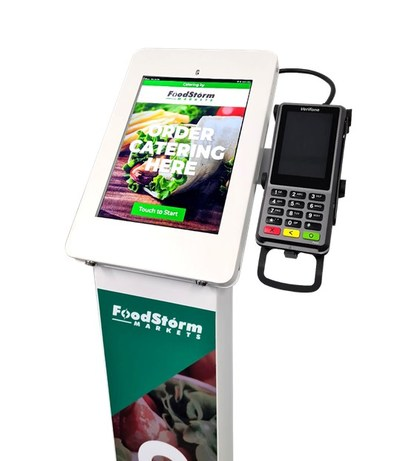 The FoodStorm Kiosk can help both large chain and independent grocery retailers compete by entering new service lines and offerings via catering and prepared foods, attracting new customers, and retaining existing ones.