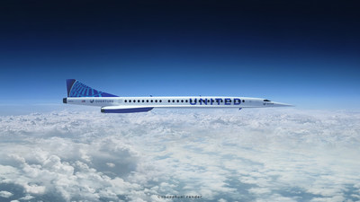 Boom Supersonic's aircraft will cut travel times in half and operate on up to 100% sustainable aviation fuel.