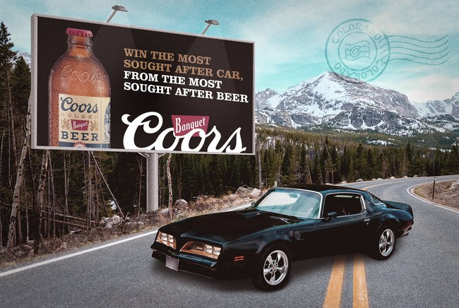 Coors Banquet® Scavenger Hunt – Win the most sought after car, from the most sought after beer.