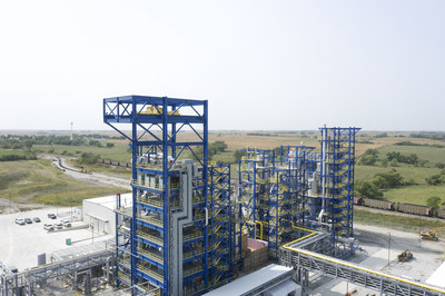 Olive Creek 1 in Hallam, Nebraska is Monolith Materials' first commercial-scale emissions-free production facility designed to produce approximately 14,000 metric tons of carbon black annually along with clean hydrogen.