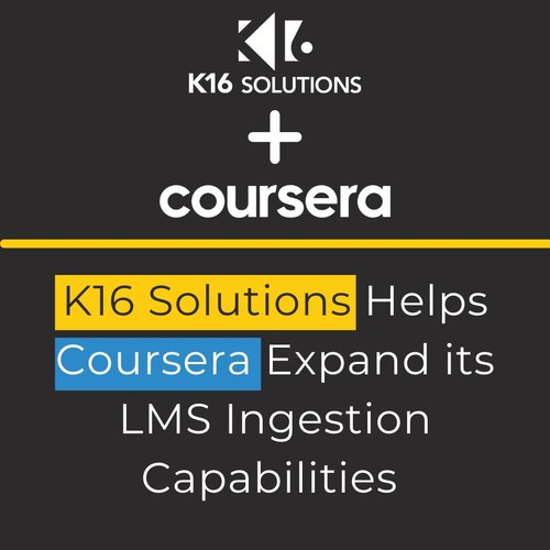 K16 Solutions Helps Coursera Expand its LMS Ingestion Capabilities