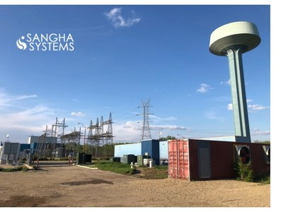 Sangha Systems' site in Hennepin, IL