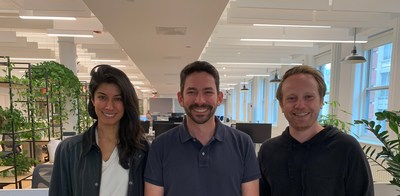 Left to right: Erum Hasnain (VP Acquisitions), Yadin Shemmer (Co-founder & CEO), Mike Blank (VP Business Operations)