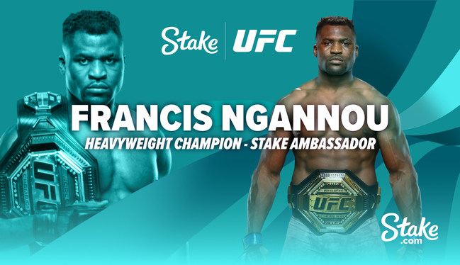 UFC Champion Francis Ngannou joins forces with Stake.com!?