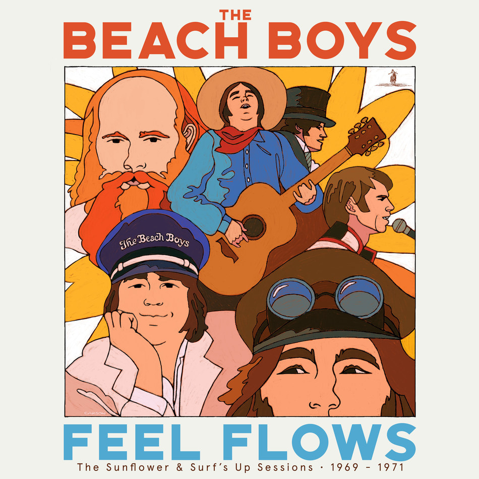 In honor of 50 years of The Beach Boys' timeless and often underappreciated albums, Capitol/UMe will release an expansive 5CD and digital box set titled Feel Flows – The Sunflower and Surf's Up Sessions 1969-1971 on July 30 that chronicles and explores in depth this metamorphic and highly influential 1969-1971 period of the band's legendary career.