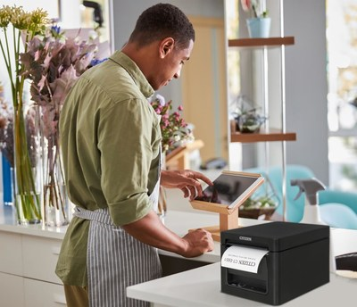 Tailor your POS printer to any retail or hospitality application with Citizen's Lightning interface option that brings ultimate connectivity and functionality.