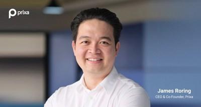 James Roring, CEO & Co-Founder Prixa