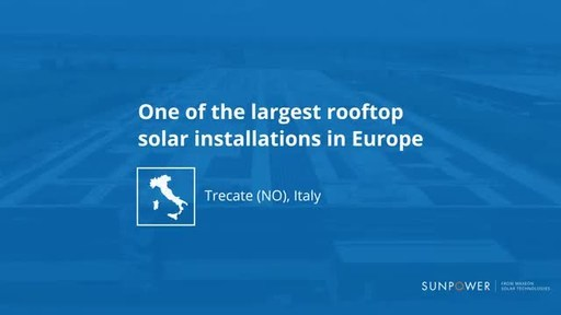 Maxeon Solar Technologies Transforms the New Logistics Hub of a Global Luxury Group into a 12.7-Megawatt Solar Powerhouse