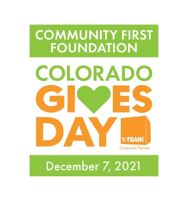 Colorado Gives Day, presented by Community First Foundation and FirstBank, is Tuesday, Dec. 7, 2021.
