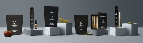 Various new products launched under Verse Originals and Verse Concentrates lines across Canada (CNW Group/The Valens Company Inc.)