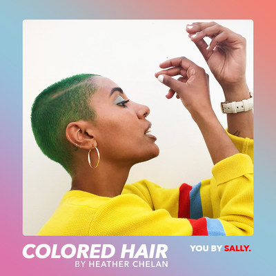 """""""Based on my hair color, I've been turned down for many jobs. I use color to express myself and stay as true to myself as possible. You have one life, if you are not doing exactly what you want to do at all times, what is the point!?"""" - Heather Chelan"""