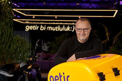 Getir Founder, Nazim Salur, at Getir HQ Istanbul (PRNewsfoto/Getir)