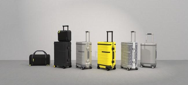 Samsara Next Gen line of luggage