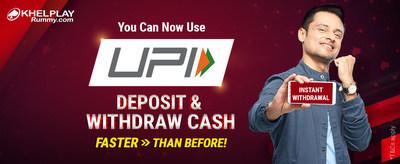 UPI Withdrawal - KhelPlay Rummy