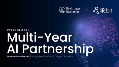 Boehringer Ingelheim partners with Lifebit to detect global infectious disease outbreaks (PRNewsfoto/Lifebit Biotech Ltd)