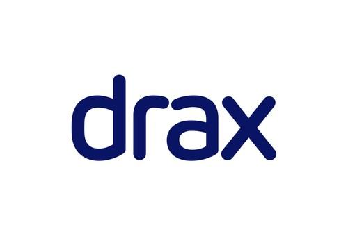 Drax logo.