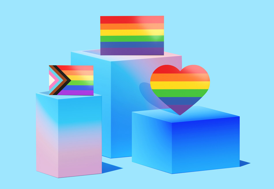 Pride stickers included in the sticker pack (CNW Group/Jukebox Print)