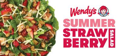 Wendy's Brings Back Seasonal Summer Strawberry Chicken Salad