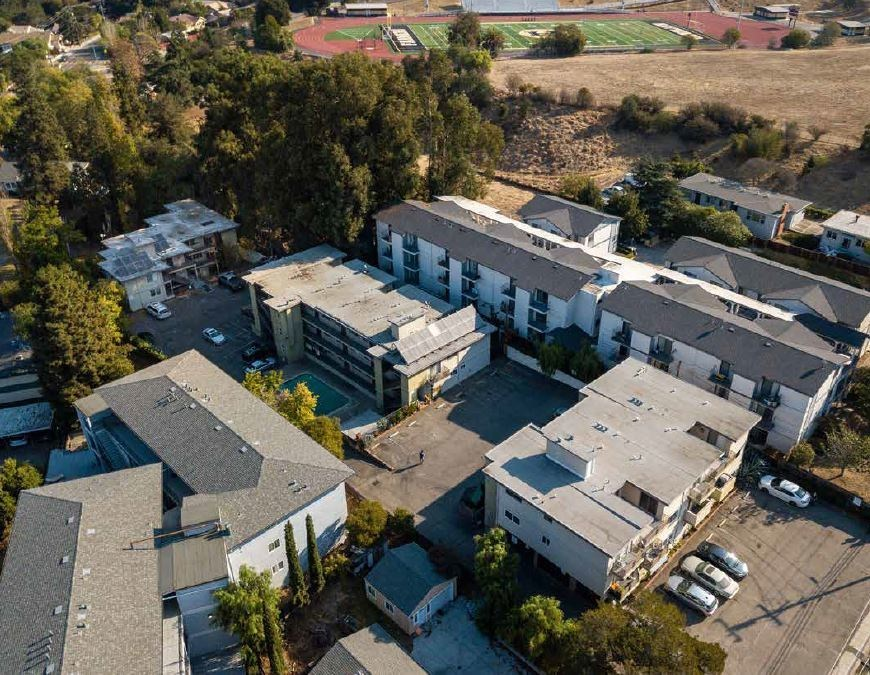 Terrace Towers (41 units - Hayward, CA) was 48% occupied at time of acquisition in May 2021.