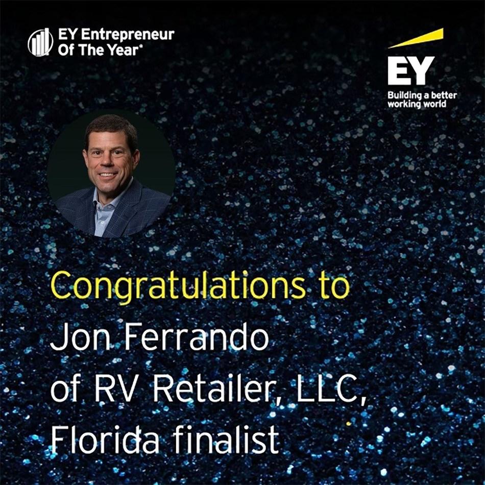 Jon Ferrando, CEO and President of RV Retailer, LLC