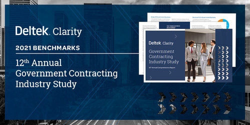 The 12th Annual Deltek Clarity Government Contracting Industry Study is Now Available