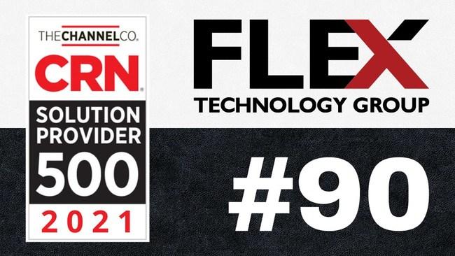 FTG ranks #90 on the 2021 CRN Solution Provider 500 List