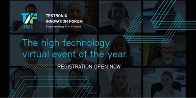 The 2021 Tektronix Innovation Forum features 40 sessions with more than 50 tech experts from around the world.