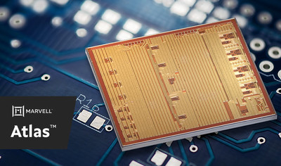 Marvell's Atlas™ chipset is the industry's first PAM4 DSP solution to now integrate transimpedance amplifiers and laser drivers in mainstream CMOS technology, reducing supply chain complexity and power consumption by up to 25%.
