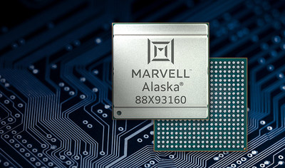 Marvell's Alaska® C 88X93160 is the industry's first 1.6T Ethernet PHY with 100G PAM4 electrical input/outputs in 5nm.