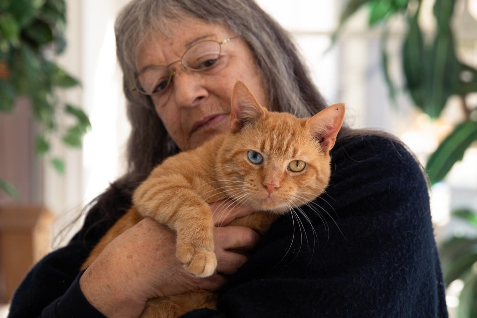 One in four seniors lives alone and, for many of them, their pet is their closest companion and one of their only sources of consistent comfort.