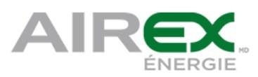 Logo de Airex Énergie (Groupe CNW/Airex Énergie)
