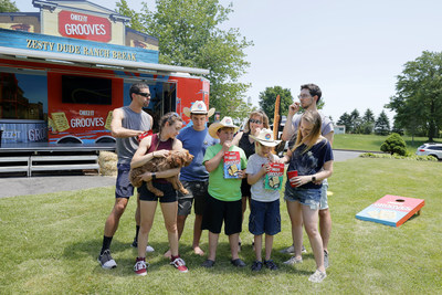CHEEZ-IT® GROOVES® BRINGS 'DUDE-RANCH-STAYCATION' TO ONE LUCKY FAMILY'S FRONT DOOR
