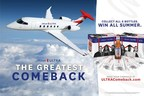 Michelob ULTRA Celebrates the Greatest Comeback in Sports History with Superstar Athletes and a trip on a Private Jet to Championship Games