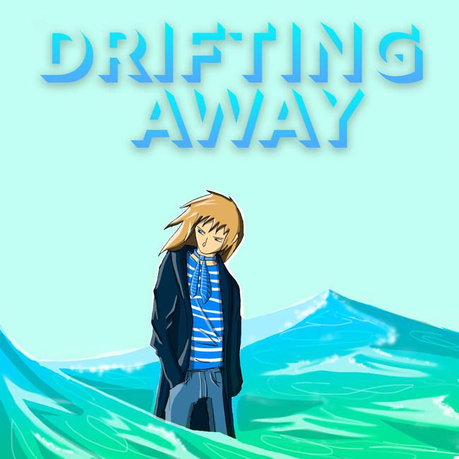 """""""Drifting Away"""" cover art progress"""