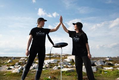 Cat Adalay (left), Founder & CEO, and Rachel Carr (right), CMO (CNW Group/Aurea Technologies Inc.)