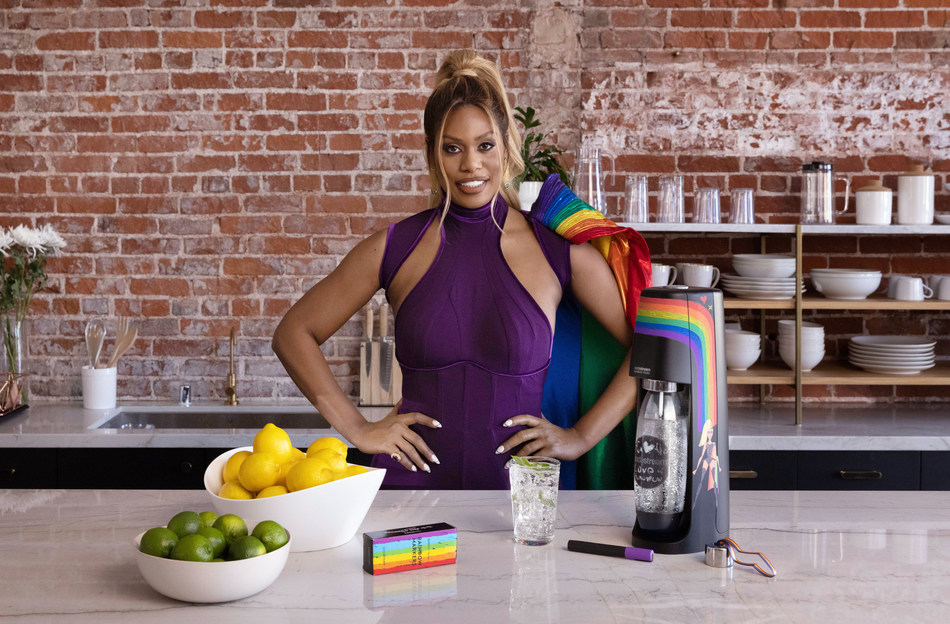 SodaStream and Star Laverne Cox Release New Pride Video Spotlighting Cox as Superhero for LGBTQI+ Rights (CNW Group/SodaStream Canada)