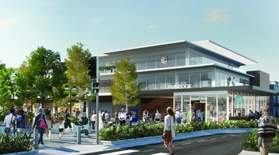 Artist rendering of the Five Dock Station.